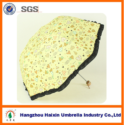 Colorful Design Appllo Dome Umbrella with Girls Sex Picture for Sun