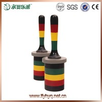 Baby toy world musical instrument korea Traditional Chinese hand-painted sand cone, wood shaker