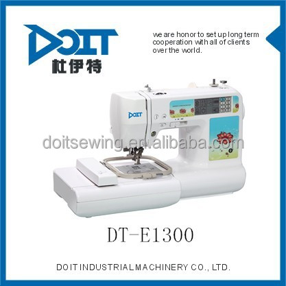 Multi-function Domestic Embroidery Sewing Machine DT-E13001embroidery garment sewing machine price