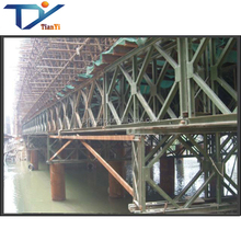Custom stainless heavy structural steel fabrication companies bailey bridge for sale