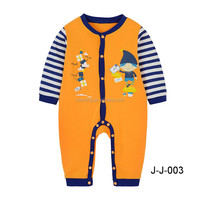 OEM service unisex baby rompers plain
