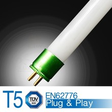 T5 led tube replace 54w electronic ballast ECG/EVG compatible 1149mm 18W 120lm/w