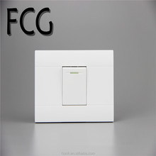 Manufacture supplier light switch home used pc wall switch fire proof electric door switches