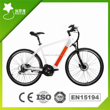 Powered by Battery 36V guewer electric bike with LCD Display
