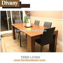 Divany wrought iron dining table legs extendable dining table