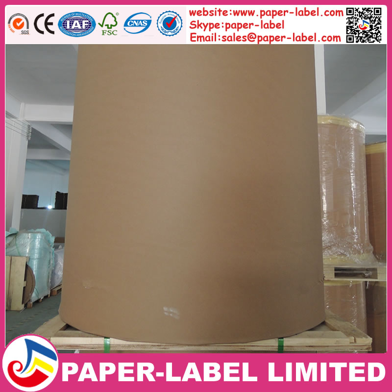 58gsm adhesive thermal paper roll material for making supermarket scale label