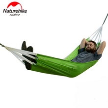 NatureHike Ultralight Automatic Inflatable Camping Hammock Swings for Outdoor Hiking Camping Tent Picnic Sleeping Beds
