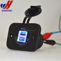 Waterproof Marine Automotive Dual USB Charger