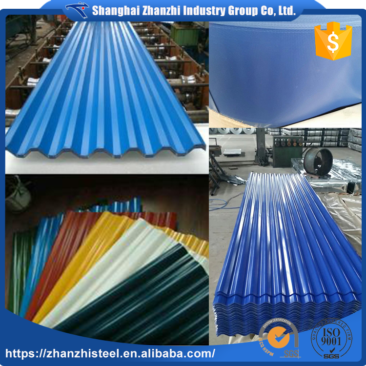 Factory Directly Supply Best Price Colorful Weight Of Corrugated Steel Sheet