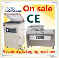 hot selling continuous vacuum packaging machine for fruit and meat SHD-1000