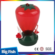 Automatic Red Bird Feeder Suet