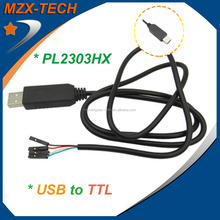 PL2303 cable PL2303HX USB to TTL module 4p 4 pin RS232 Converter serial Line