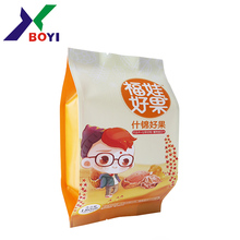 wholesale sew round bottom bag round bottom plastic bag foil gusset bags