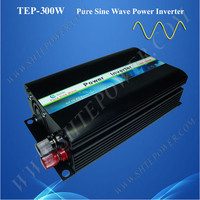 Peak power 600w pure sine wave dc 12v 24v 48v to ac 300w off grid solar inverter