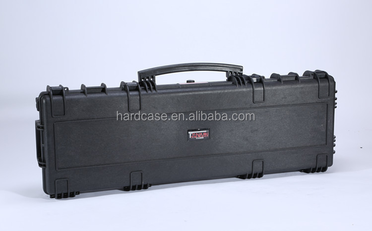 Security tool case Black hard hunting gun case with combination lock