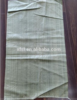 packaging materials recycled polypropylene woven construction bags, packaging garbage pp woven bag made in china