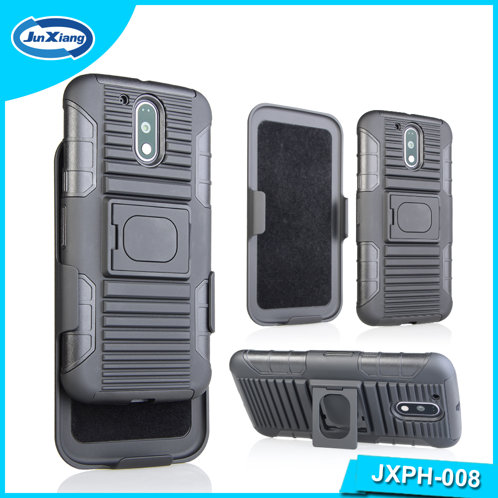 Hot saleTPU and PC hybrid ring case for Motorola G4 made in china