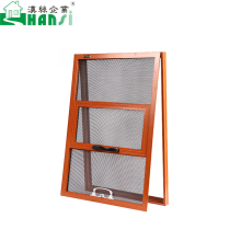 New design high quality aluminum tilt and turn screen window