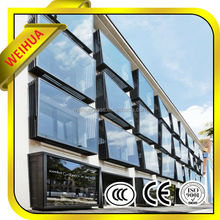 Backlit Glass Onyx Curtain Wall