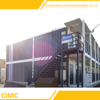 Low Cost Prefab Moveable 20ft Container House Design For Apartment
