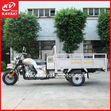 Industry Farming Using Heavy Duty Cargo Delivery Motorcycle Tricycle With Front Passenger Seat