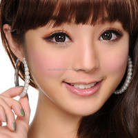 GEO Super Angel Brown XCM-214 Color Contact Lens (Korean Authentic Lens & US FDA Approved)