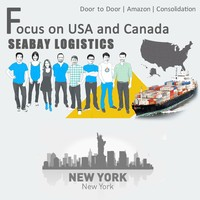 Brilliant sea freight forwarder from china to new york