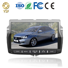 Support TMPS DAB+ DVR Android 7.0 Quad Core Car DVD radio stereo multimedia player for LADA Vesta gps navigation