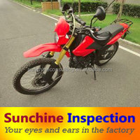 Motorcyle inspection service in China/quality control inspection company/Third party inspection service in China