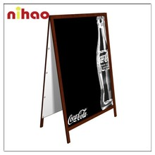 2015 New A-stand Wood Stand Outdoor Blackboard