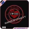 Bling I love you with circle Rhinestone Iron on Transfer supplier