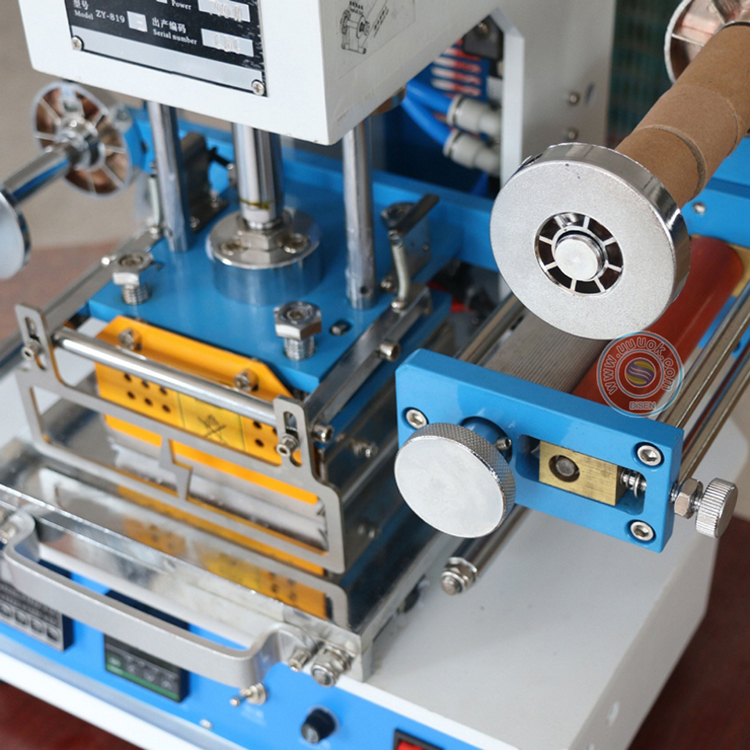 fishing lure hot foil stamping machine for lures card making machine