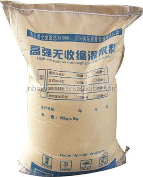 High speed railway grouting material