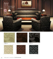 Chair upholstery with flame-resistant made in Japan for chair cover
