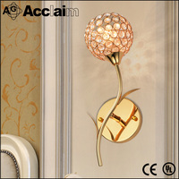 Hot Sale Warm And Romantic Crystal Wall Lamp For Kitchen