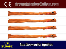 wholesale fireworks display material safe fuse high quality 100% igniter rate 5m fireworks electric ignition