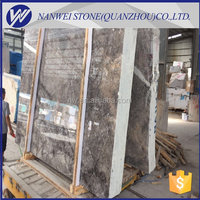 Brown marble flooring tile with white veins,buffett grey marble big size slabs