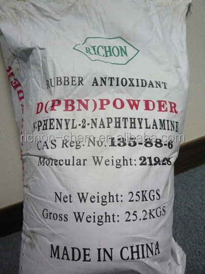 Factory Supplier Low Price Rubber Chemicals Made in China N-phenyl-2-naphthylamine Rubber antioxidant D Antioxidant PBN