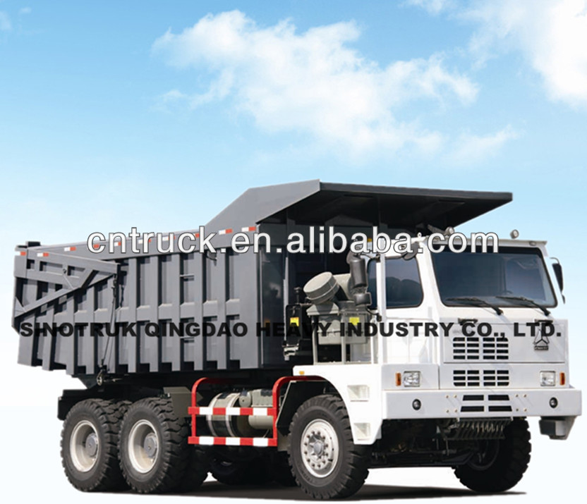 Off road HOVA 6*4 Mine dumper truck