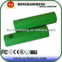 digital camera Battery US18650 For sony 2100MA