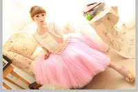 High Quality Polyester Womens Party Wedding Bridesmaids Skirts Free Size