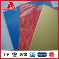 Building material wall cladding marble acp