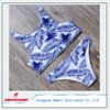 Sexy Swimsuit Womens Swimwear Leaf Pattern