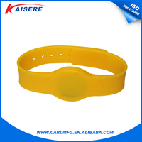 OEM Manufacturer NFC SILICON waterproof rfid wristband