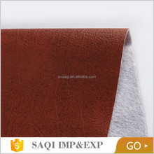 home textile cheap price fashion comfortable microfiber eco leather material for seat cover imitation leather fabric