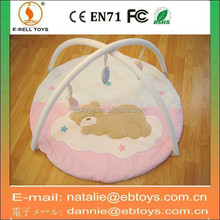 Stuffed plush baby gym play mat for sale