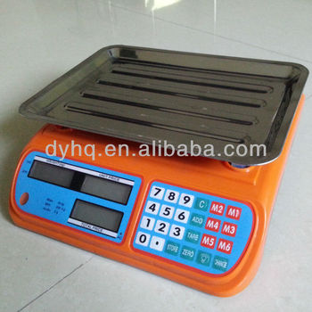 Electronic price computing scale DY-988