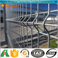 Hign quality Wrought Iron PVC coated welded wire fence
