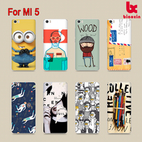 For Xiaomi 5 Drawing case 2D colorful printing phone cover transparent case with color printing sublimation phone back case top