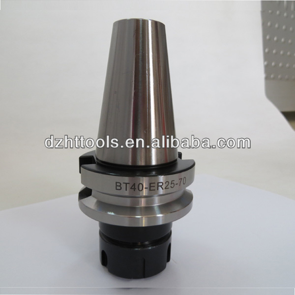 BT40 collet chuck/BT40-ER32- 70 tool holder/tool holder bt40/ER collet chuck